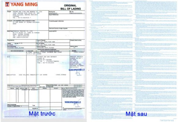 bill-of-lading